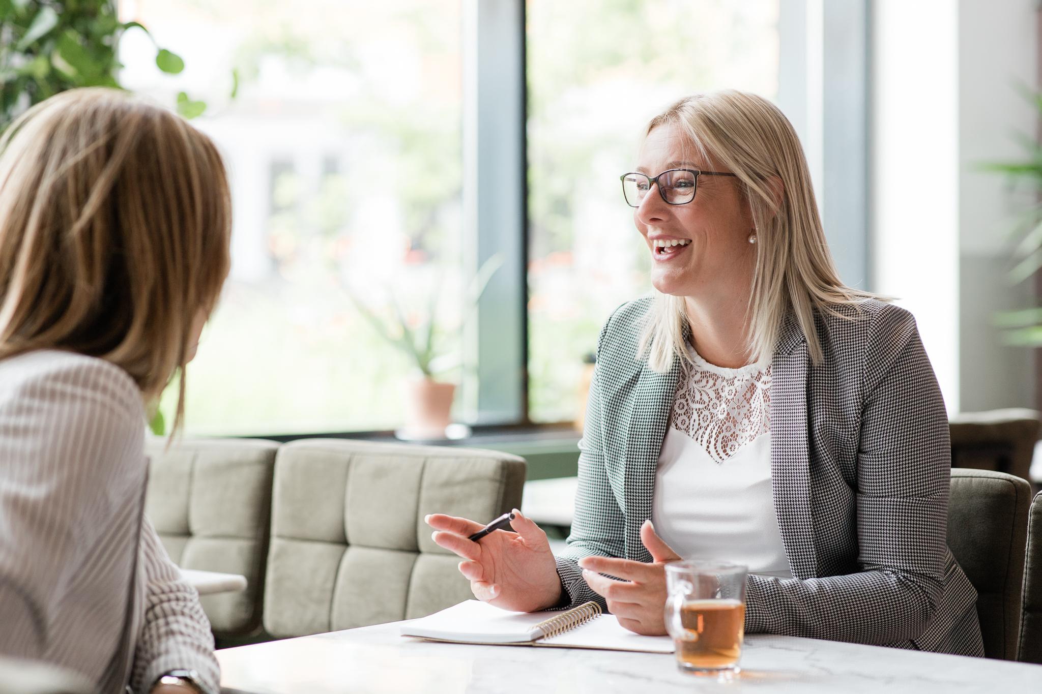 Eerste gesprek met de client