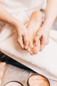 Reflexologie voet