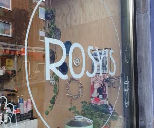 Mijn maandelijkse uitje is een Latte van Rosy's!!